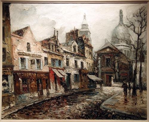 Frank will la galerie roussard montmartre - Bureau de change rue montmartre ...